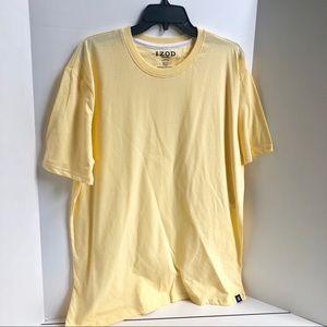 NEW IZOD Yellow T-Shirt